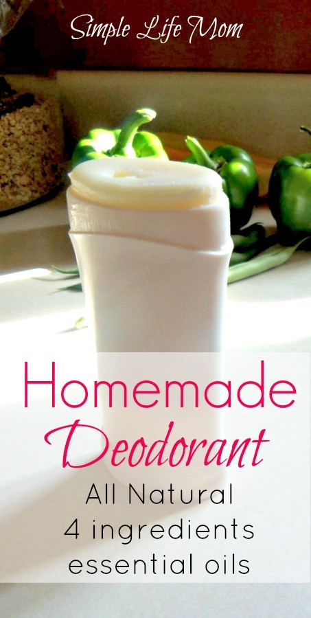 Homemade Deodorant | Simple Life Mom