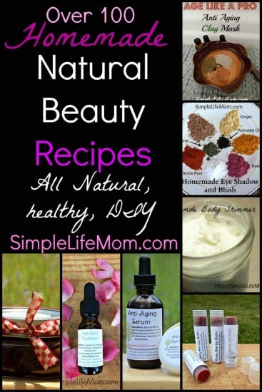 Natural Beauty Recipes from Simple Life Mom