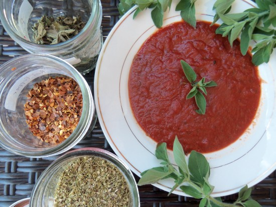 Best Ever Pizza Sauce - Homemade and Fresh!