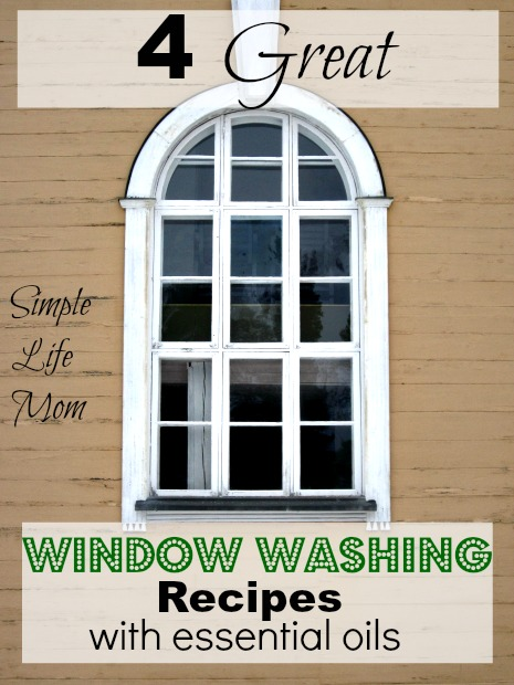 4 great window washing recipes from simple life mom for Simple living mom