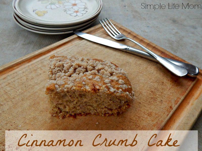 Cinnamon Crumb Cake from Simple Life Mom