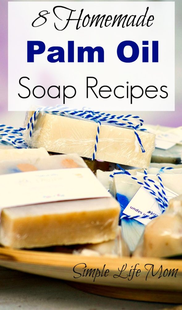 8 Homemade Palm Oil Soap Recipes from Simple Life Mom