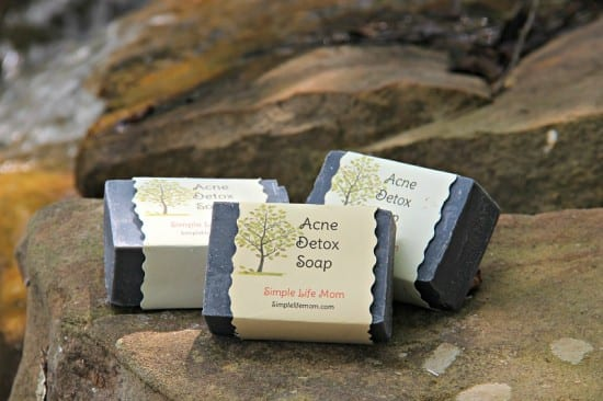 Natural Beauty Product Recipes - acne detox soap