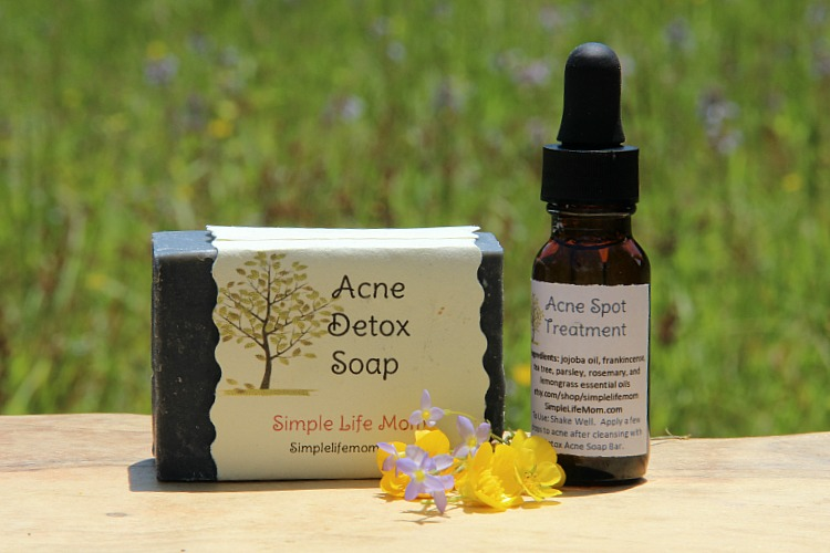 Why Use Natural Products: Acne Spot Treatment and Soap Gift Set by Simple Life Mom