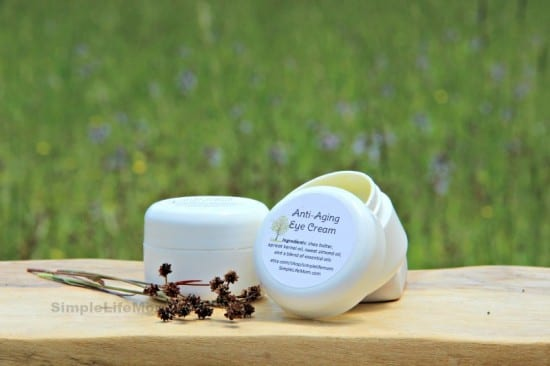 Natural Beauty Product Recipes -Eye Cream