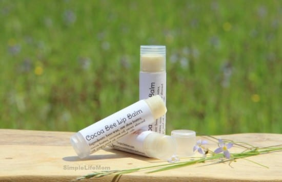 Cocoa Bee Lip Balm by SimpleLifeMom