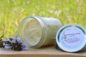 Homemade Lotions and Balms