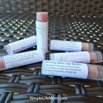 Homemade lip stick by Simple Life Mom