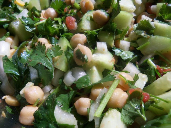 Cucumber Cilantro Salad