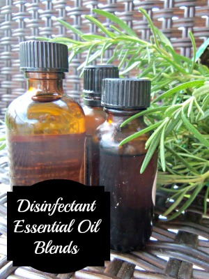 Disinfectant Essential Oil Blends | Simple Life Mom