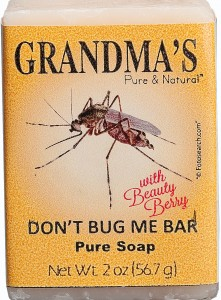 Grandma's Pure and Natural Don't Bug Me Bar