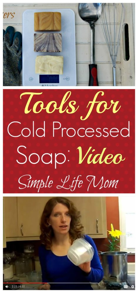 Soap Making Tools