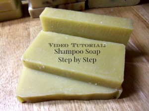 Video Tutorial Shampoo Soap Step by Step