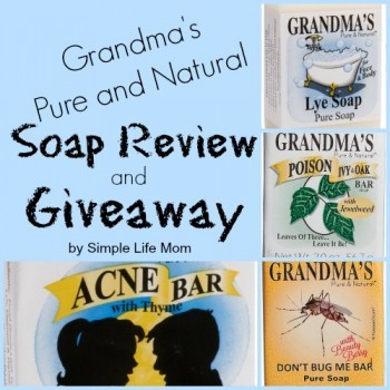 Grandma's Soap Review and Giveaway by Simple Life Mom