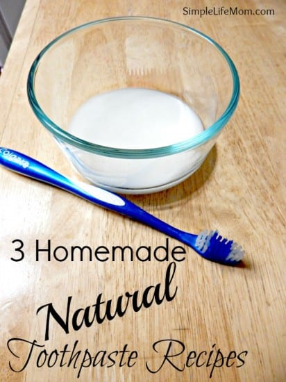 3 Homemade Natural Toothpaste Recipes