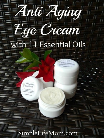 Anti Aging Eye Cream with 11 Essential Oils