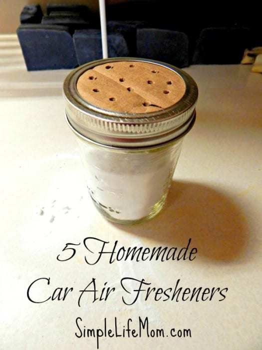 5 Homemade Car Air Fresheners
