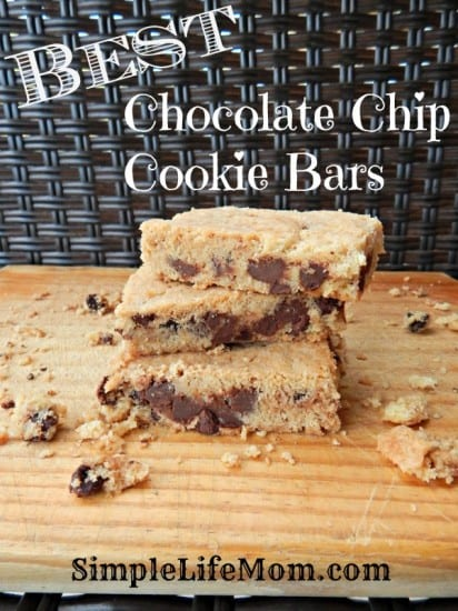 Best Chocolate Chip Cookie Bars