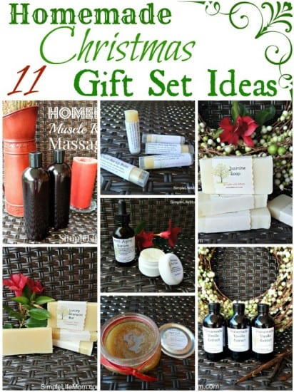 Homemade Christmas Gift Set Ideas