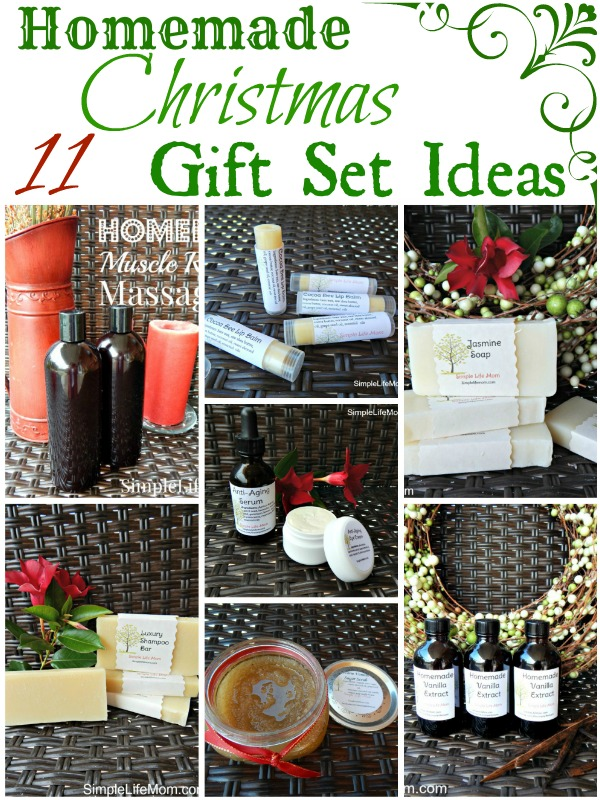 11 Homemade Christmas Gift Set Ideas -Simple Life Mom
