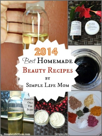 2014 best homemade beauty recipes by simple life mom for Simple living mom