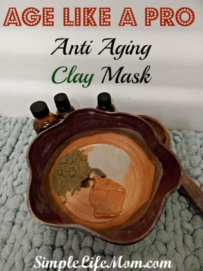 27 Last Minute DIY Gift Ideas - Age Like A Pro Anti Aging Clay Mask from Simple Life Mom