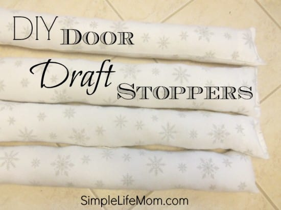 DIY Door Draft Stoppers
