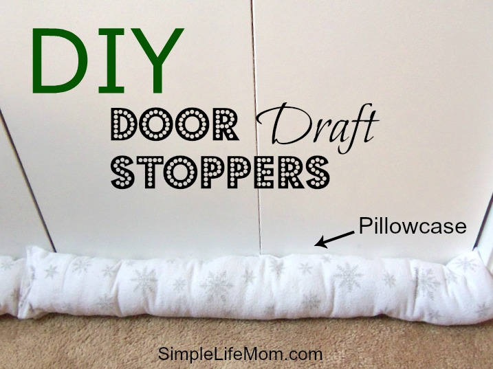 Diy Door Draft Stopper Simple Life Mom
