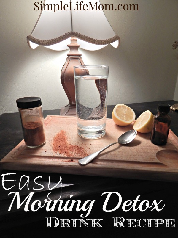 Easy Morning Detox Drink Recipe