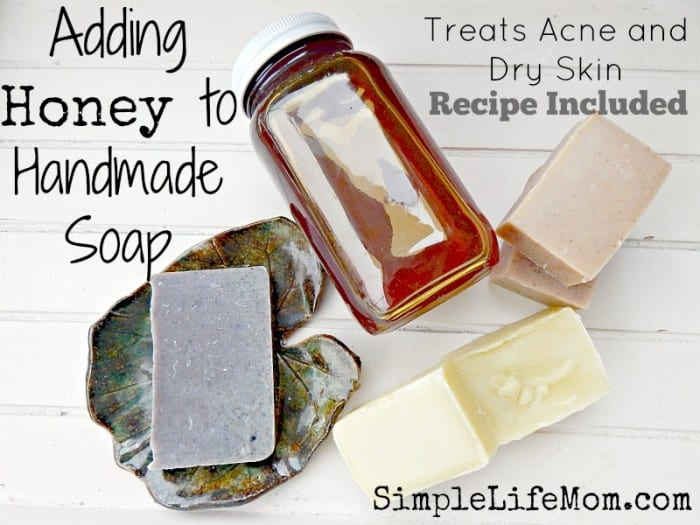 Adding Honey to Handmade Soap