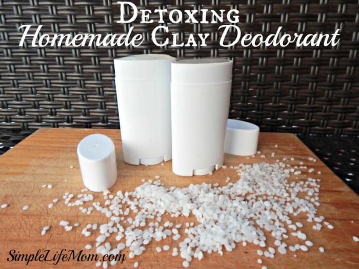 Detoxing Homemade Clay Deodorant2