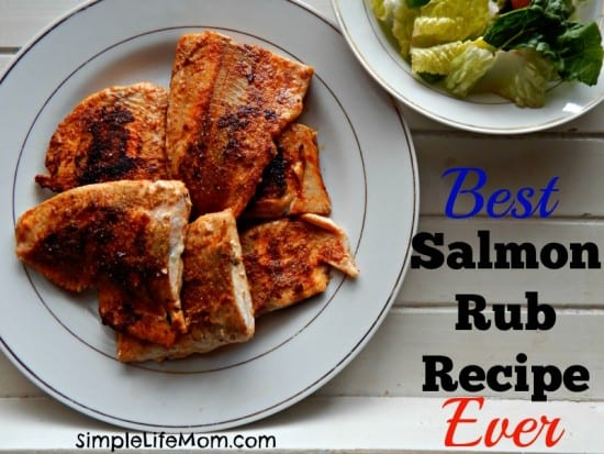 Best Salmon Rub Recipe Ever