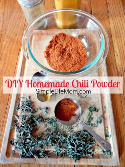 DIY Homemade Chili Powder Recipe