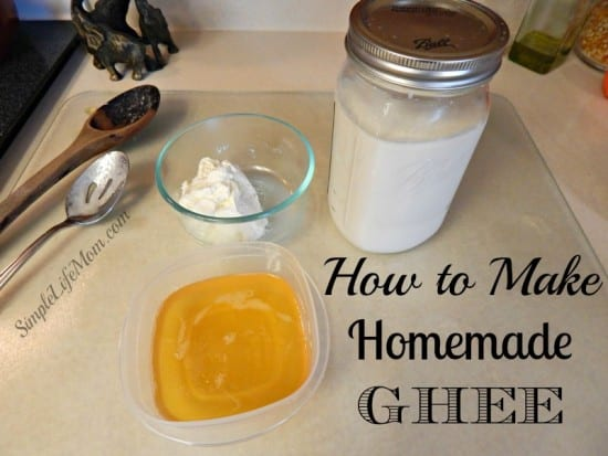 How and Why You Should be Making Ghee