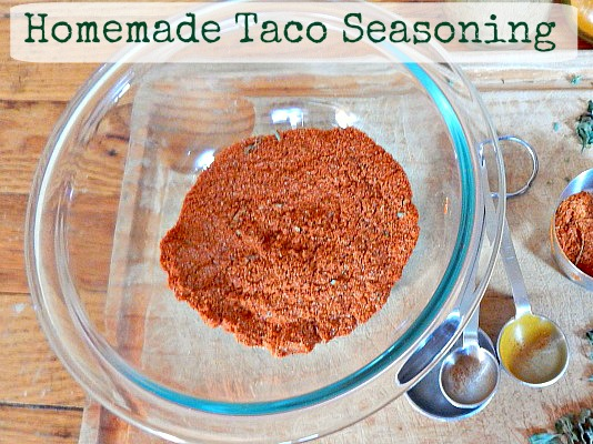 27 Last Minute DIY Gift Ideas - Taco Seasoning From Simple Life Mom