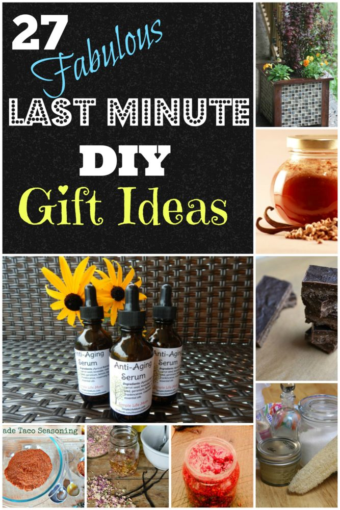 27 Last Minute DIY Gift Ideas -Simple Life Mom