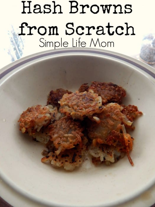 Hash Browns From Scratch Recipe