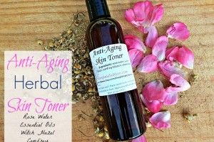 Homemade Anti Aging Herbal Facial Toner