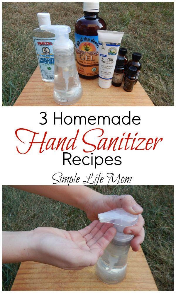 3 Homemade Hand Sanitizer Recipes Simple Life Mom