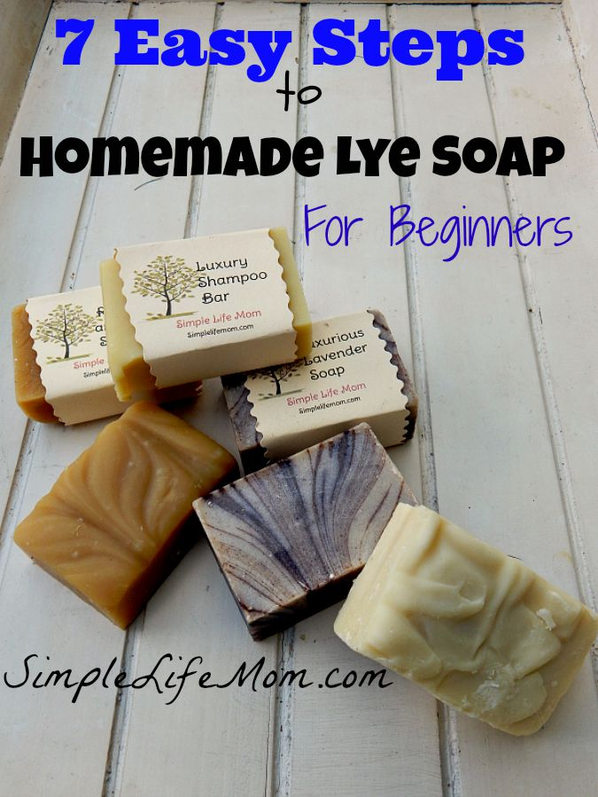 7 Easy Steps To Homemade Lye Soap For Beginners -Simple