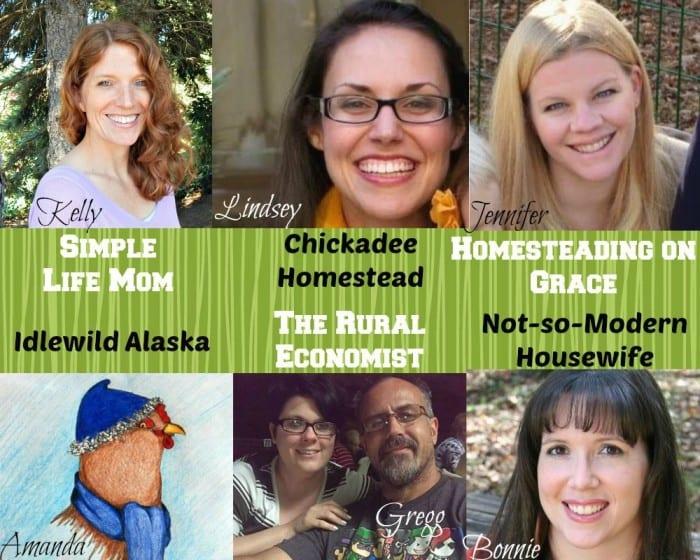 Homestead Blog Hop Hosts - Link up every Wednesday - Simplelifemom.com