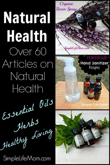 Natural Health - over 60 articles on natural health