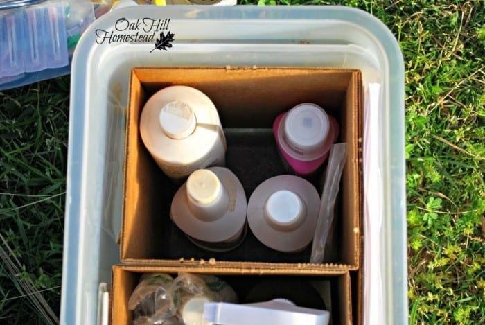 Featured on the Homestead Blog Hop -Inside My Livestock First Aid Kit
