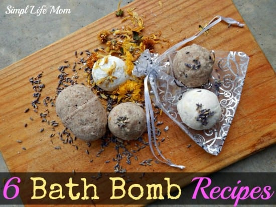 6 Amazing21 Handmade Christmas Gifts - Bath Bomb Recipes from Simple Life Mom - all natural, organic ingredients only