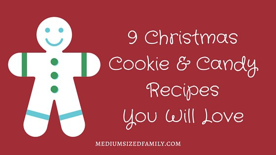 Featured on the Homestead Blog Hop - 9-Christmas-Cookie-Candy-Recipes-You-Will-Love