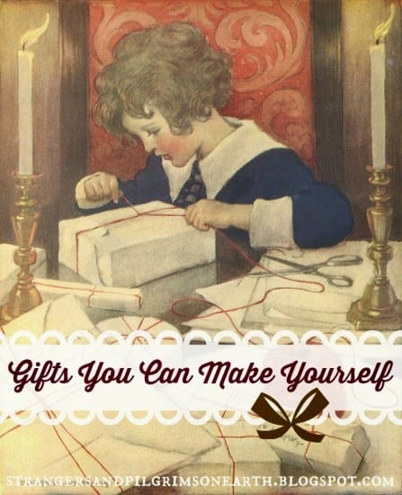 Featured on the Homestead Blog Hop - Make Your Own Gifts