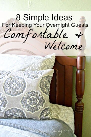 Featured on the Homestead Blog hop - Keeping Guests Comfortable