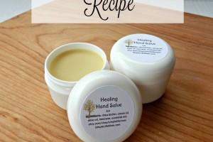 Herbal Hand Salve Recipe