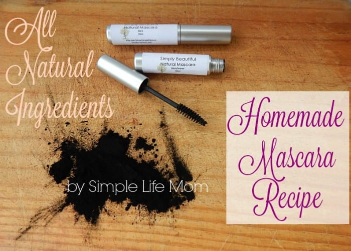 Homemade mascara recipe that works simple life mom for Simple living mom
