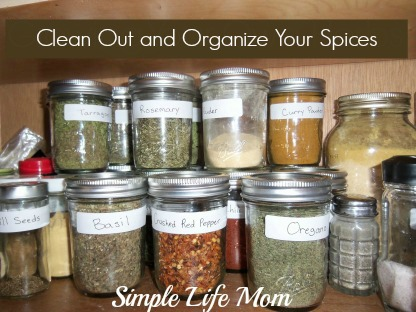 12 Tips to Declutter and Organize Your Kitchen by Simple Life Mom